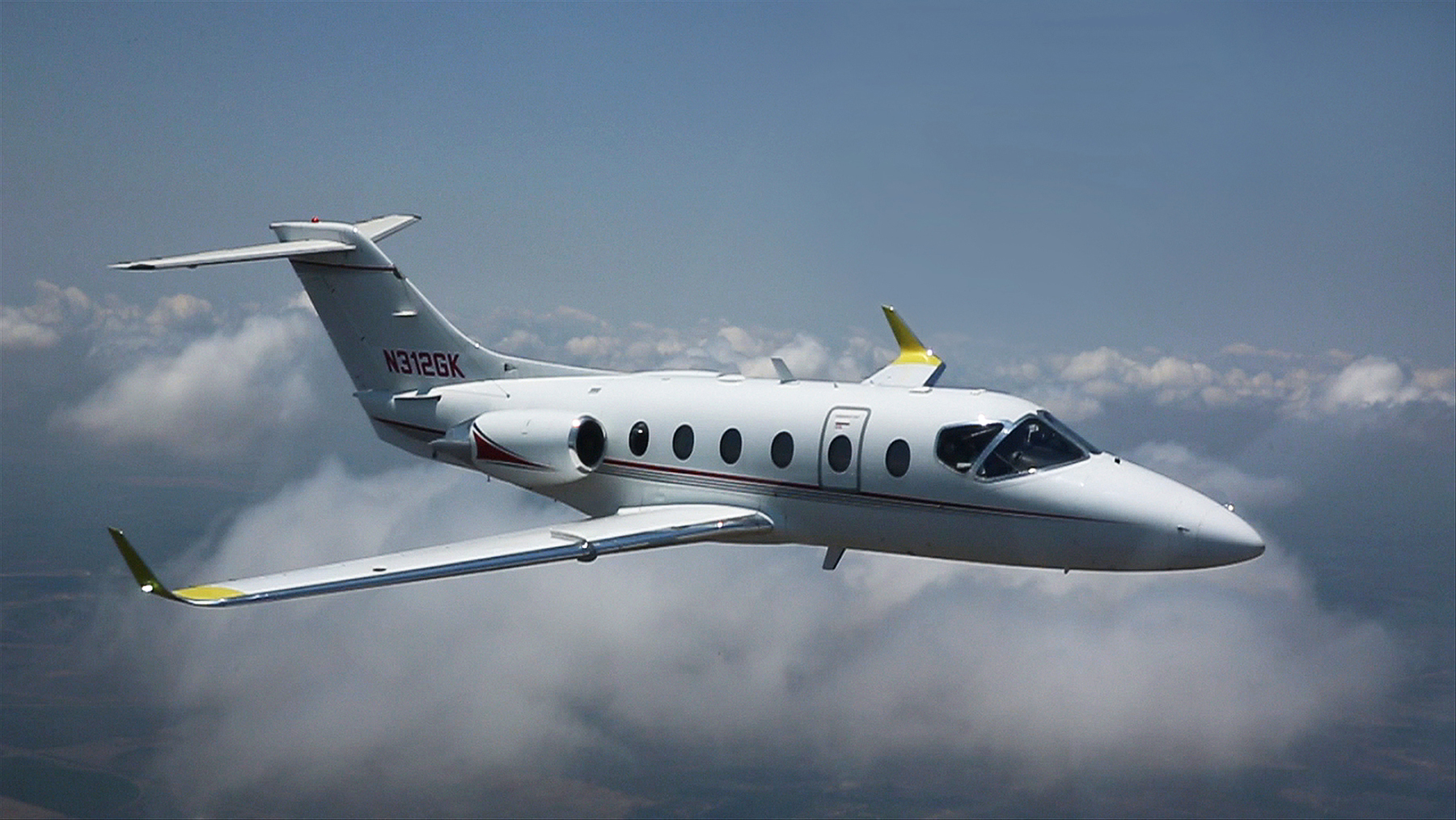 Hawker-400XPR-First-Winglet-Flight