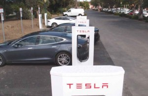 The Harris Ranch TESLA Charging Station