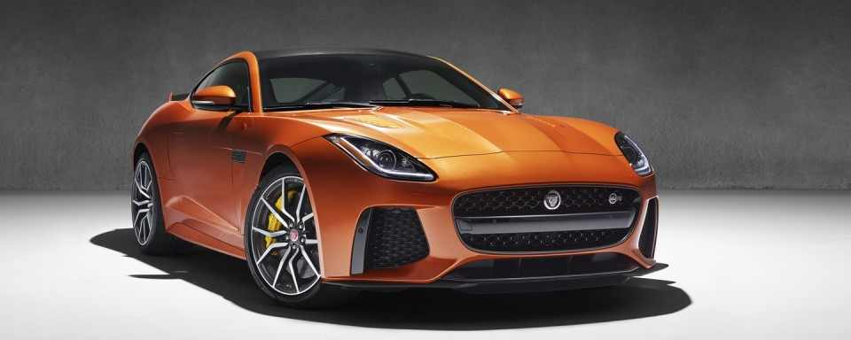 The 200 MPH Jaguar F-Type SVR will make a Global Debut at the 2016 Geneva Motor Show